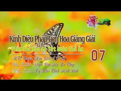 Phẩm Phổ Môn Bồ Tát Quán Thế Âm Thứ Hai Mươi Lăm 7/10