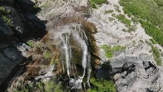 #DJI FPV waterfall surfing !!!!