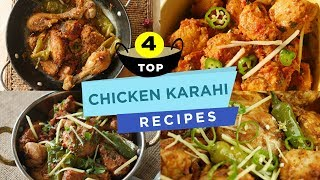 Top 4 Chicken Karahi Recipes By Food Fusion
