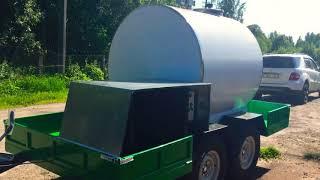 Передвижной охладитель молока ETH-2000 BIOMILK от компании ООО «ЭТЭКО» - видео