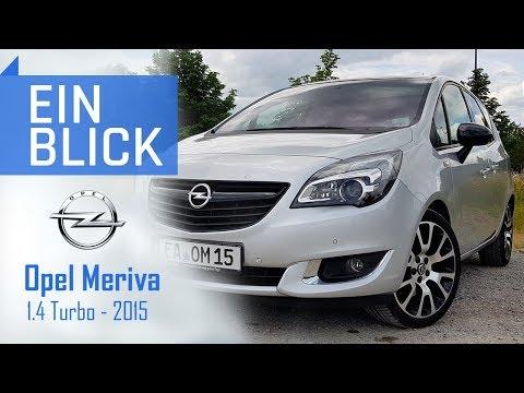 Opel Meriva 1.4 Turbo 2015 - Mehr als nur Selbstmördertüren? Vorstellung, Test und Kaufberatung