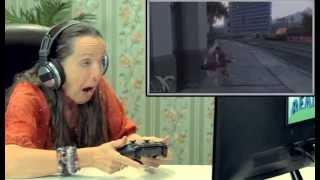 Старики играют в GTA 5 Vine