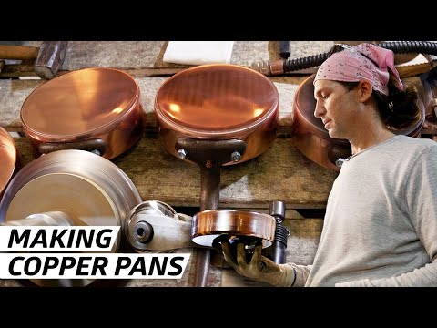 How a Former Rocket Scientist Makes Copper Pots in America [11:38]
