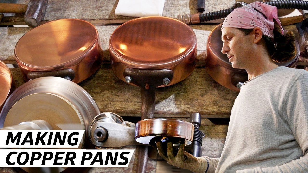 How a Former Rocket Scientist Makes the Best Copper Pots in America — Handmade thumbnail
