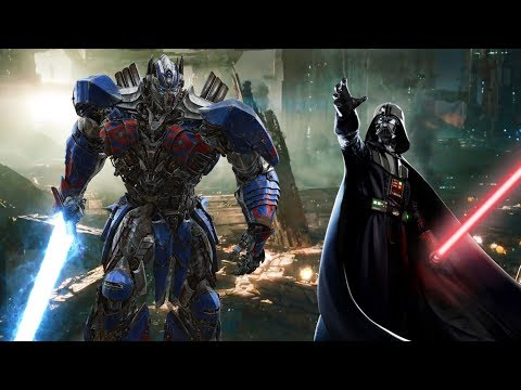 Star Wars vs Transformers Epic Battle Trailer (FanMade)