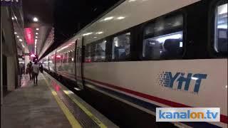 Konya-İstanbul trenine yağış engeli!