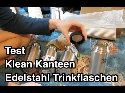 Test Klean Kanteen Edelstahl Trinkflasche | Test Edelstahl Trinkflasche | Edelstahlflasche Test