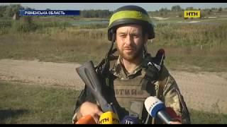 На Рівненщині тривають масштабні військові навчання