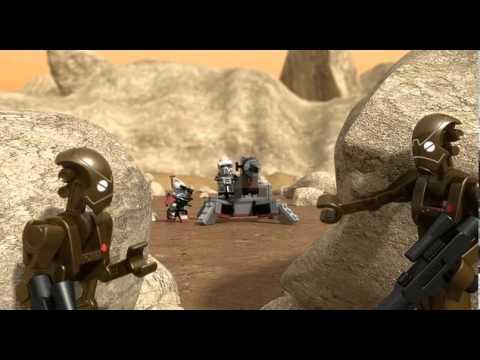 Vidéo LEGO Star Wars 9488 : Les ARC Trooper et le commando droïde