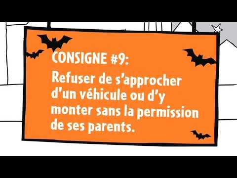 Les consignes de sécurité pour l'Halloween-Épisode 9