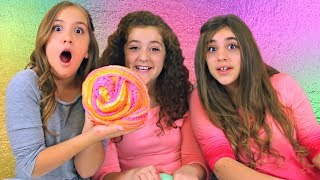 3 Slime Challenge!  Making 3 Slimes in 3 Colors into 3 Slime Smoothies!