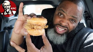 NEW KFC FRIED CHICKEN & DONUTS SANDWICH   SMASH Or PASS?