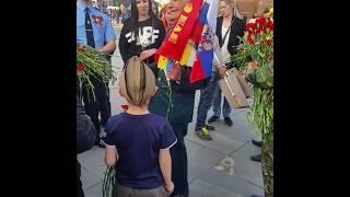 Ветеран 9 мая , парк победы москва