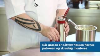 Sådan bruger du en sifon som en Chef / H.W.Larsen