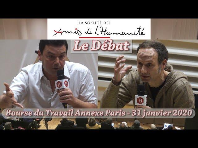 Vidéo : Débat (complet) Thomas Piketty - Frédéric Lordon: Propriété et Capital, janvier 2020