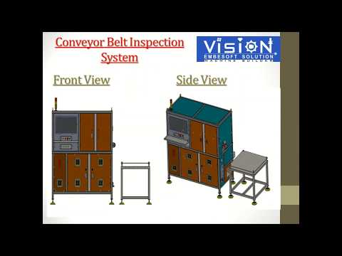 Conveyor Belt Machine Vision Inspection Solution