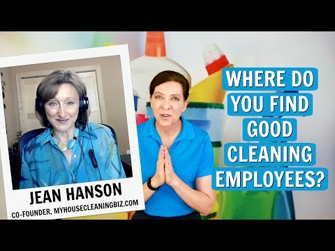 , title : 'Where Do You Find Good Cleaning Employees? Jean Hanson
