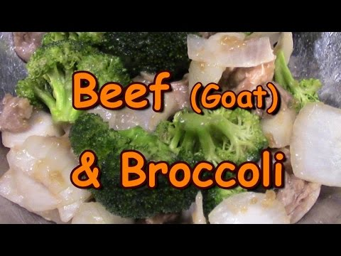 Beef Broccoli, Homemade Chinese Takeout