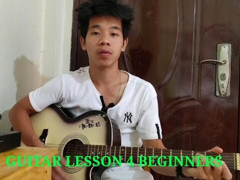 Guitar lesson 6 (finger exercise,guitar basic tutorial for beginners) | Anthony Gamnoh