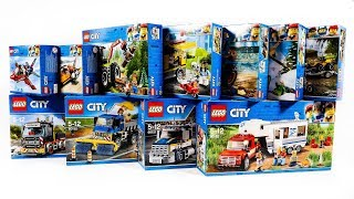 LEGO CITY GREAT VEHICLES 2018 COLLECTION/COMPILTATION