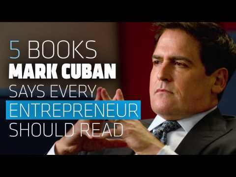 The 5 Business Books that Made Mark Cuban Very Rich