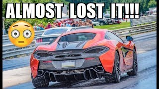 This is How You PREVENT A CRASH... McLaren RUNS MID 6's!!!