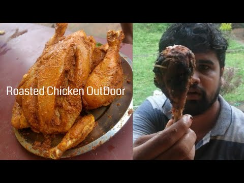 Roasted chicken outdoor Just try it yourself