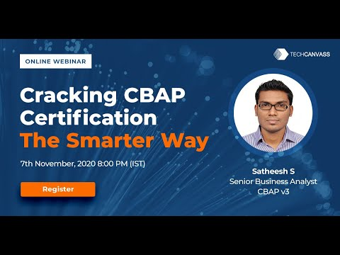 CRACKING CBAP / CCBA – THE SMARTER WAY (Register now ...