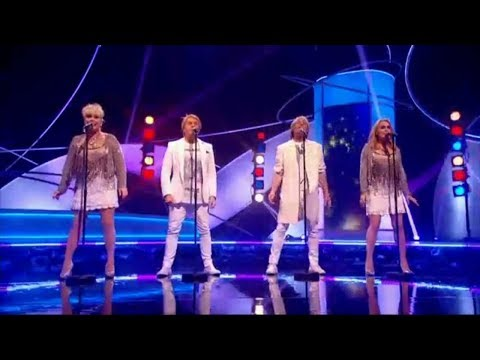Former Buck's Fizz Members - Making Your Mind Up [Pointless Show] (2016)