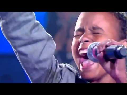 Niño Evangélico Participa En Reality Cantando Música Cristiana - Himno i Aleluya !