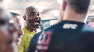 UFC Fight Night 84: Michael Bisping, Anderson Silva Exchange Words