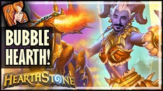 This Paladin Has Bubble Hearth! - Rise of Shadows Hearthstone