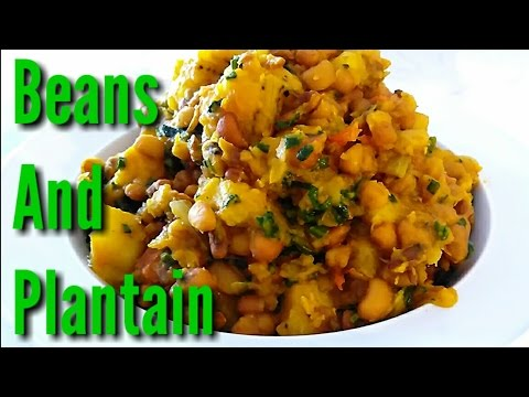 Beans and plantain porridge. Healthy and Nutritious!!!