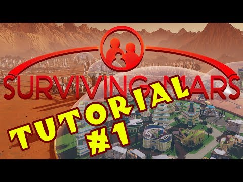 Surviving Mars - A Guide for Complete Beginners! - #1: Setup! Science! Scanning! [Sponsored]