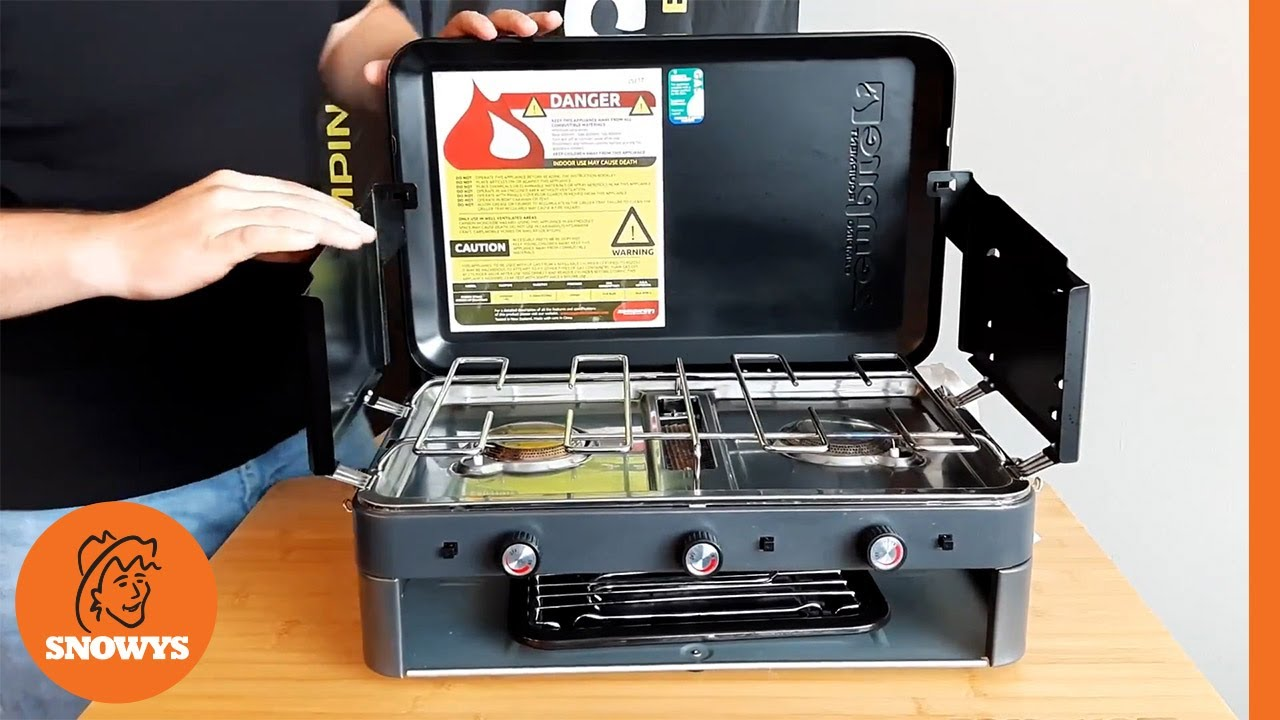 2 Burner Deluxe Stove & Grill
