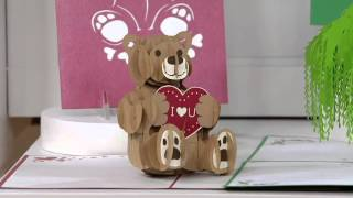 Lovepop S/10 Handcrafted 3D Pop-Up Greeting Cards On QVC