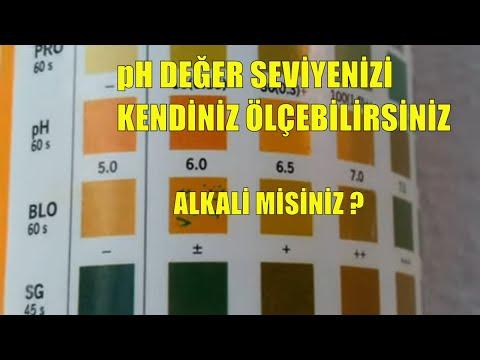 ALKALI MIYIM ?ASIDIK MI ? pH  değer seviyemiz ne durumda ?