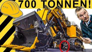 UNFASSBAR! 700 TONNEN Monster Bagger Aus China! | Bauma Rundgang