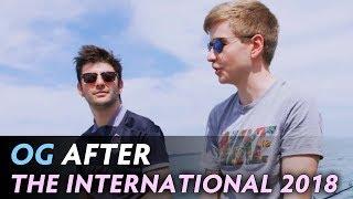 OG after The International 2018 — Lakad Matatag!