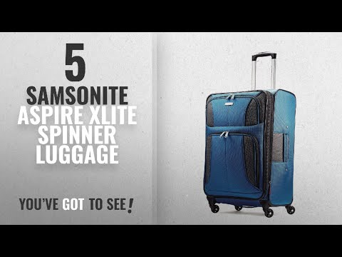 "Top 10 Samsonite Aspire Xlite Spinner Luggage [2018]: Samsonite Aspire xLite Expandable 25"""