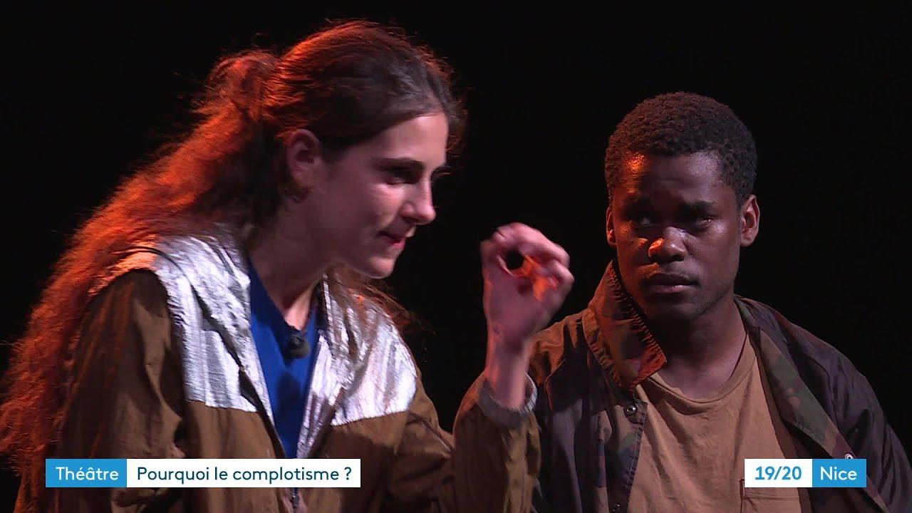 """Théâtre : """"La théorie"""" ou la naissance d'un complot"""