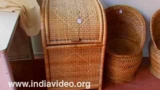 Beautiful artifacts of Bamboo at Dilli Haat
