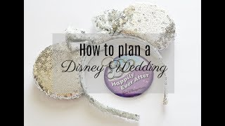 How To Plan A Disney Wedding | + All About Our October Disney World Wedding!