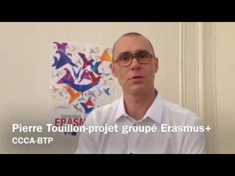 Pierre Touillon : un projet Erasmus+ dans le BTP