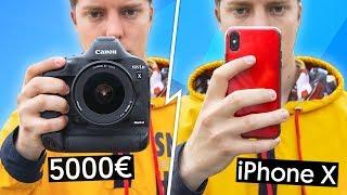 iPhone X VS Reflex à 5000€ ! - dooclip.me