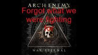 Arch Enemy - Dead eyes see no future (lyrics)