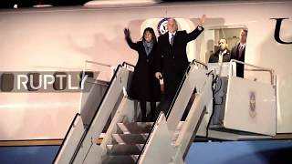 Japan: Pence touches down in Tokyo ahead of whistle-stop Asia tour