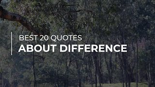 Best 20 Quotes About Difference | Quotes For Whatsapp | Quotes For Pictures