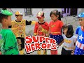 Download Video Parodi Lucu!!!Rara dan Superhero Melawan Penjahat  Kostum Baru Superhero Part 1 & 2 []Nursery rhymes