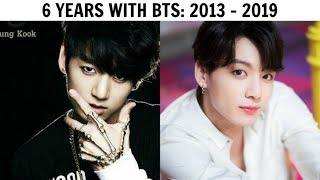 6 YEARS WITH BTS | Evolution 2013 2019
